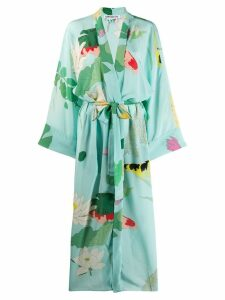Bernadette Peignoir kimono dress - Blue