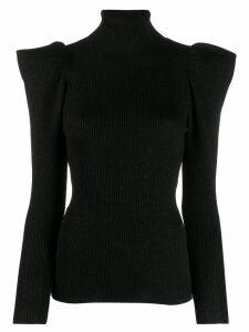 P.A.R.O.S.H. turtleneck sweatshirt - Black