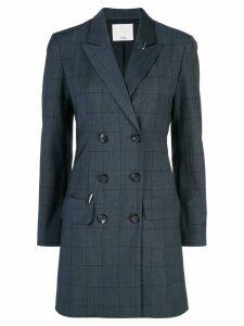 Tibi windowpane blazer dress - Grey