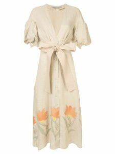 Silvia Tcherassi Cameron dress - Neutrals