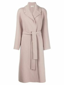 The Row long line cashmere coat - Pink