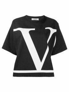 Valentino VLOGO printed T-shirt - Black