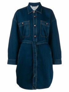 Diesel denim shirt dress - Blue