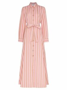 Evi Grintela Valerie stripe maxi dress - Pink