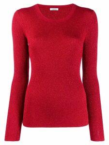 P.A.R.O.S.H. fine knit sweatshirt - Red