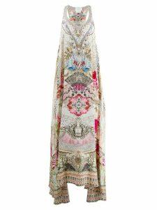 Camilla printed maxi dress - NEUTRALS