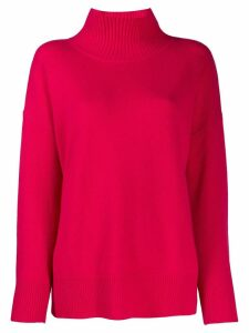 Roberto Collina turtle neck jumper - Pink