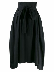 Henrik Vibskov Exhale textured asymmetric skirt - Black