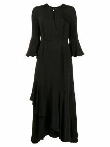 Erdem ruffle dress - Black