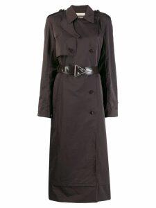 Bottega Veneta belted trench coat - Brown
