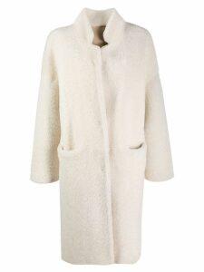 P.A.R.O.S.H. cocoon coat - Neutrals