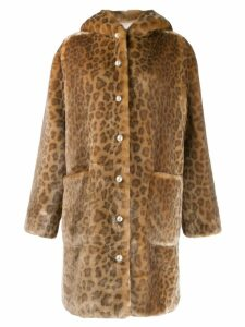 Shrimps Gloria coat - Brown