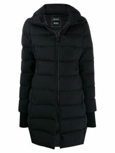 Herno fitted puffer coat - Black