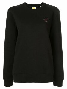 Yeah Right! model and dj jumper - Black