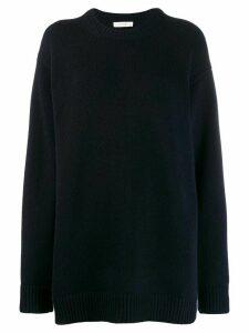 The Row cashmere sweatshirt - Blue