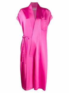 Balenciaga sleeveless judo dress - Pink