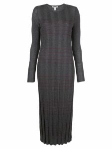 Autumn Cashmere knitted dress - Grey