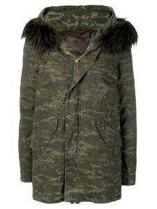 Mr & Mrs Italy camouflage pattern padded jacket - Green