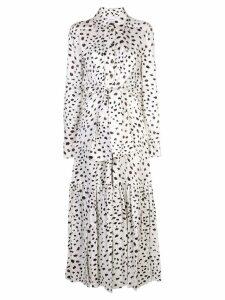 Carolina Herrera printed maxi dress - White