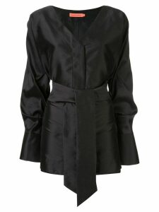 Manning Cartell tie waist blouse - Black