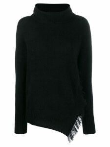 3.1 Phillip Lim knitted turtle neck jumper - Black