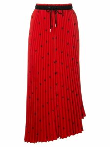 Proenza Schouler PSWL Grateful Dead Bear Pleated Skirt - Pink