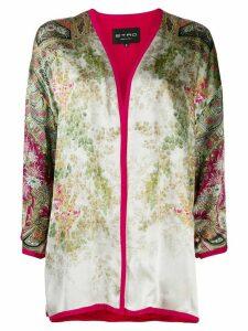 Etro oriental kimono jacket - Pink