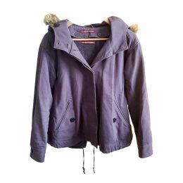 Purple Cotton Coat