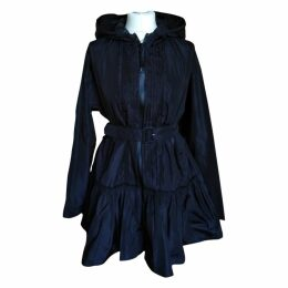 Black Synthetic Coat