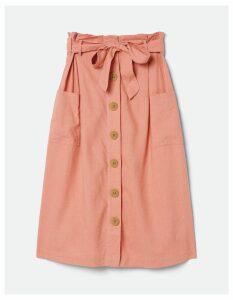 Fat Face Kate Linen Blend Skirt
