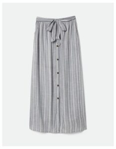 Fat Face Maya Stripe Maxi Skirt