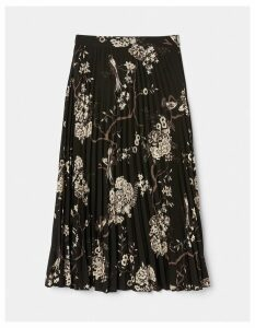 Fat Face Perrie Oriental Garden Pleated Skirt