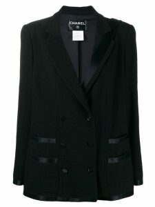 Chanel Pre-Owned tuxedo blazer - Black