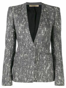 Balenciaga Pre-Owned 2000's marled blazer jacket - Grey