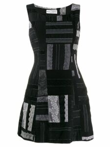 Dolce & Gabbana Pre-Owned 1990's patchwork dress - Black