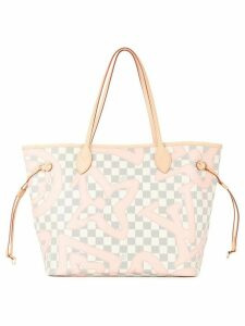 Louis Vuitton Pre-Owned 2017 Neverfull MM tote - White, Pink
