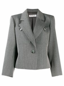 Yves Saint Laurent Pre-Owned 1980's straight tailored blazer - Grey