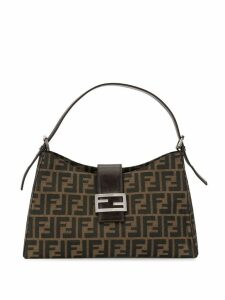 Fendi Pre-Owned Zucca pattern shoulder bag - Brown