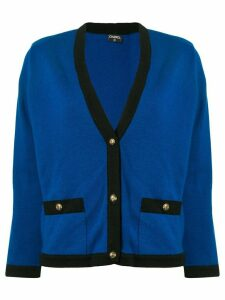 Chanel Pre-Owned Ensemble Cardigan Tops - Blue