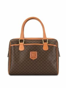 Céline Pre-Owned Macadam pattern tote - Brown