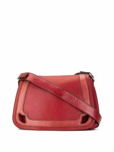 Cartier Pre-Owned Marcello de Cartier saddle bag - Red