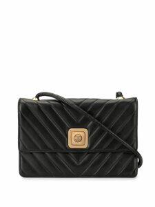 Chanel Pre-Owned V stitch crossbody bag - Black
