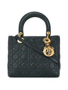 Christian Dior Pre-Owned Lady Dior Cannage tote - Blue