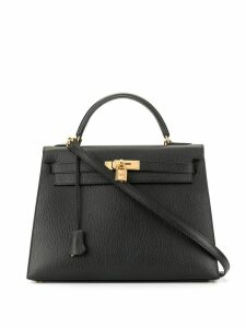 Hermès Pre-Owned Kelly Sellier 32 2way bag - Black