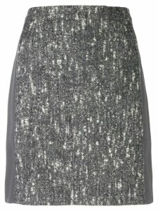Balenciaga Pre-Owned 2000's marled A-line skirt - Grey