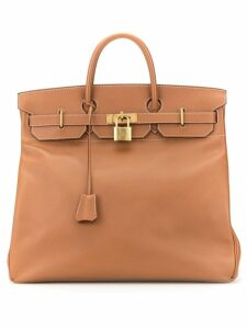Hermès Pre-Owned Haut a Courroies 45 tote - Brown