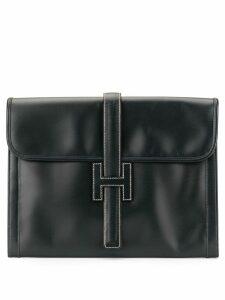 Hermès Pre-Owned Jige GM clutch - Blue