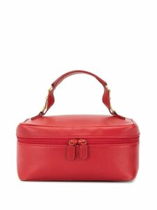Gucci Pre-Owned horsebit details cosmetic bag - Red