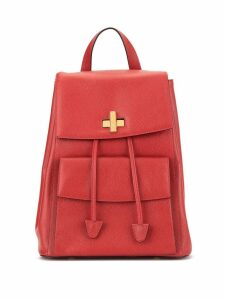 Céline Pre-Owned Logos Backpack - Red
