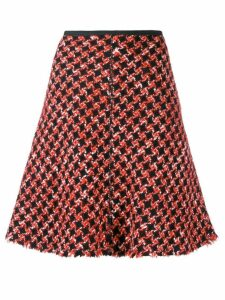 Prada Pre-Owned 1990's woven A-line skirt - Red